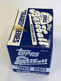 1982 Topps Traded Complete Set Factory Sealed (Ripken Rookie, PSA Ready!)
