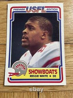 1984 TOPPS USFL FOOTBALL CARDS COMPLETE FACTORY SET Young Kelly White & More