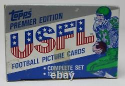 1984 Topps USFL Football Complete Set Unsearched Factory Sealed