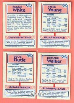 1985 Topps USFL Football Complete Factory Set #1-132 YOUNG FLUTIE WHITE WALKER +
