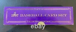 1987 Topps Tiffany Baseball Complete Factory Unopened Set Sealed