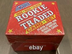 1988 Score Rookie & Traded High Gloss Complete Set Glossy Factory Sealed Biggio
