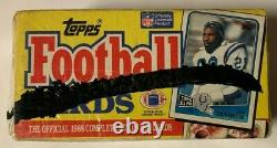 1988 Topps Football Complete Factory Sealed Set Bo Jackson Rookie Card