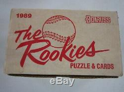 1989 Donruss The Rookies Case Of 15 Complete Factory Sealed Baseball Sets