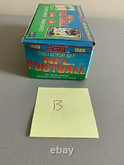 1989 Score Football Complete Factory Set UNTOUCHED Barry Sanders Rookie RC Lot B