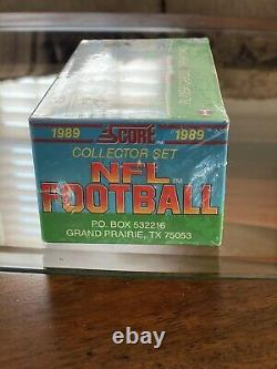 1989 Score Football Complete Set Factory Sealed