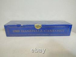 1989 Topps Tiffany Baseball Card Complete Set FACTORY SEALED