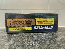 1992 1993 Topps Gold Complete Set Factory Sealed Shaq RC 7 Beam Team NBA