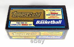 1992-93 Topps Gold Basketball Complete Factory Sealed Set (403 Cards)