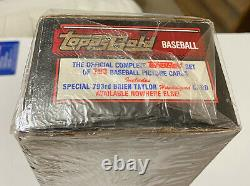 1992 Topps Gold Complete Factory Sealed Set + Brien Taylor Auto Rare