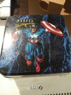 1992 marvel masterpiece complete tin set factory sealed New spectra/lost lady's