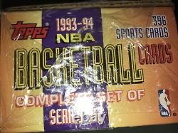 1993-94 Topps NBA Basketball Series 1 & 2 Complete Set Factory Sealed Box