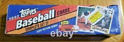 1993 Topps Complete Set of Series 1 & 2 Baseball Cards Factory Sealed Jeter RC