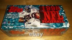 1998 Topps Football Complete Set Factory Sealed Manning RC Moss RC Brand New