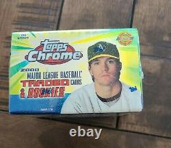 2000 Topps Chrome Traded & Rookies Factory Sealed Complete Set, Cabrera Rc