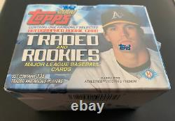 2000 Topps Traded Rookie FACTORY SEALED Set 1 AUTO Miguel Cabrera RC