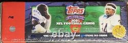 2001 Topps NFL Complete Factory Sealed Set Drew Brees Rookie Card