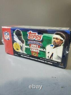 2001 Tops Collection NFL Complete Set Factory Sealed brand new