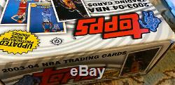 2003-04 Topps Basketball Collection Factory Not Complete Set No LeBron James RC