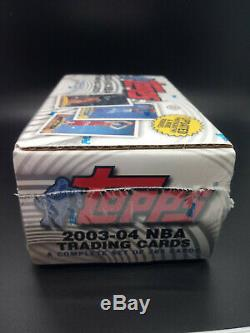 2003-04 Topps Basketball Factory Sealed Complete Set LeBron James Rookie RC Wade