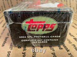 2004 Topps Football Complete Set (Factory Sealed) Loaded with Future HOFer's