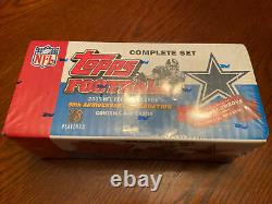 2005 Topps Football Complete Factory Sealed Set-440 Cards-aaron Rodgers Rookie