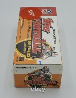 2005 Topps Football Complete Set, Factory Sealed Aaron Rogers Rookie