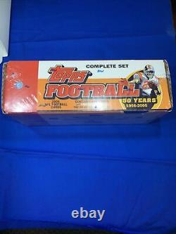 2005 Topps Football Set Factory Sealed Complete Set Aaron Rodgers Rookie 440