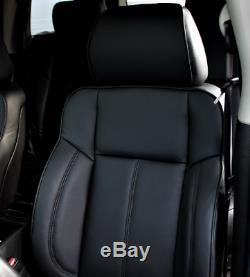 2006-2010 Hummer H3 Complete Fac Black Or Tan Leather Upholstery Seat Cover Set