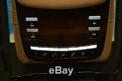 2009 W221 Mercedes S600 S65 Rear Seat Center Console Arm Rest Switch Controls