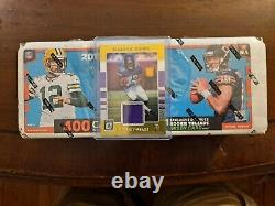 2017 Donruss Football Complete Factory Set Sealed Mahomes RC Cook Thread