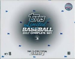 2017 Topps Limited Edition Complete Set Factory Sealed 700 Cards with Aaron Judge