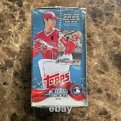 2018 Topps Complete Set Factory Sealed Box w Ohtani Rookie Variation + Chrome