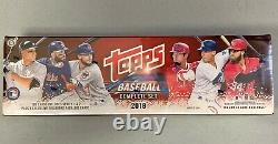 2018 Topps Series 1&2 Complete 700-Card Factory Sealed Set + 5cd Foil Parallels