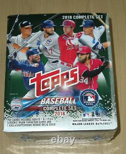2018 Topps baseball complete 708-card SEALED factory GREEN set Acuna Torres chro