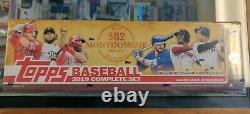 2019 Topps 582 Montgomery Club Complete Factory Sealed (700) Card Set Tatis RC