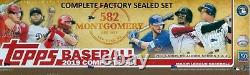 2019 Topps 582 Montgomery Club Complete Factory Sealed (700) Card Set Tatis RC +
