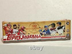 2019 Topps 582 Montgomery Factory Sealed Complete Set