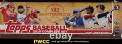 2019 Topps Baseball 582 Montgomery Club Factory Sealed Complete Set