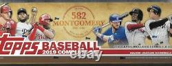 2019 Topps Montgomery Club 582 Complete Factory Sealed Set (700) Tatis RC