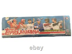 2019 topps baseball complete factory set sealed series 1 &2