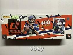 2020 Donruss Football Factory Sealed Complete Set 400 Cards RC Rookie Herbert
