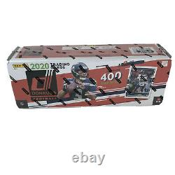 2020 PANINI DONRUSS FOOTBALL FACTORY SEALED BOX COMPLETE 400 CARD SET In hand