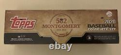 2020 Topps Montgomery Club 582 Complete Factory Sealed Stamped Set (700) Robert