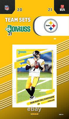 2021 DONRUSS Football COMPLETE Run 32 Different Factory Team Sets with Rookies