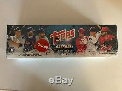 (3) 2018 Topps COMPLETE BASEBALL FACTORY SETS SEALED Rookies Acuna Torres Ohtani