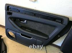 Audi Oem S8 Seats Front And Rear Door Panel Seat Set Leather Black 2007-2010