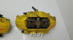 Complete Set Of Brake Calipers Front Brembros & Rear Factory BMW 2018 BMW 340i