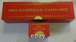 FACTORY SEALED 1984 Topps Tiffany Baseball Complete Set with Traded Set