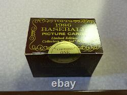 FACTORY SEALED 1986 Topps Tiffany Complete Factory Set with SEALED Traded Set